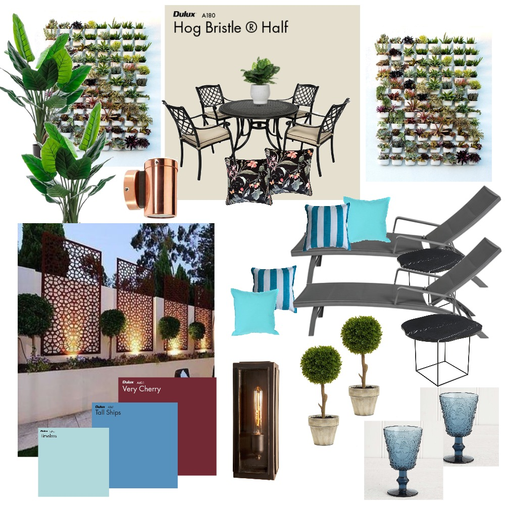 Pool Side - Diana Interior Design Mood Board by Mrs. Smithers on Style Sourcebook