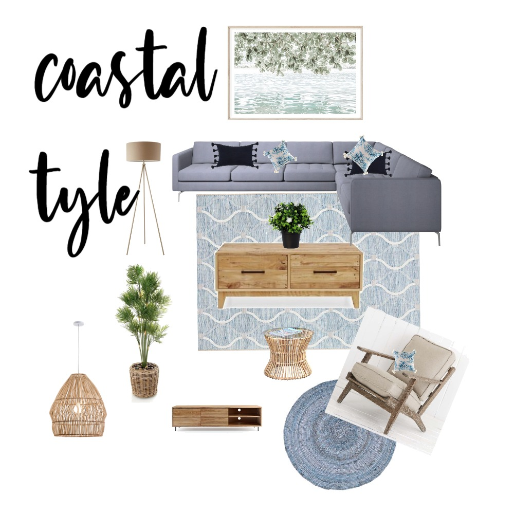 coastal style Interior Design Mood Board by shaanthe.ramaswamy on Style Sourcebook