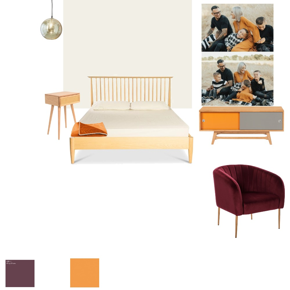 A bedroom for the happy family Interior Design Mood Board by Masolapova on Style Sourcebook