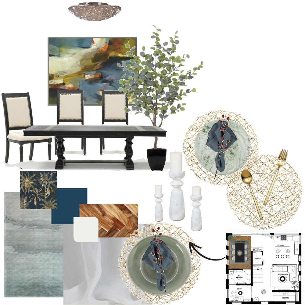 dining Interior Design Mood Board by miaLoraine on Style Sourcebook
