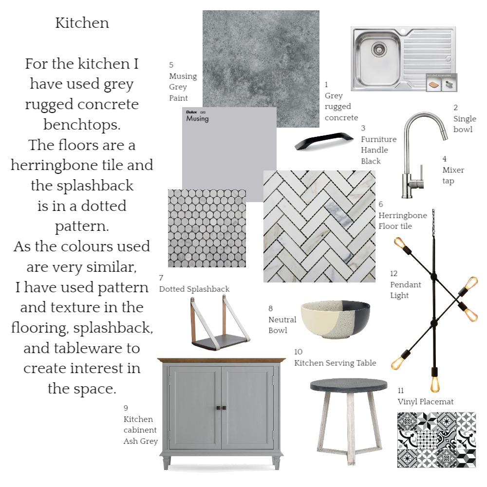Sample Board Kitchen Interior Design Mood Board by juliaexley on Style Sourcebook