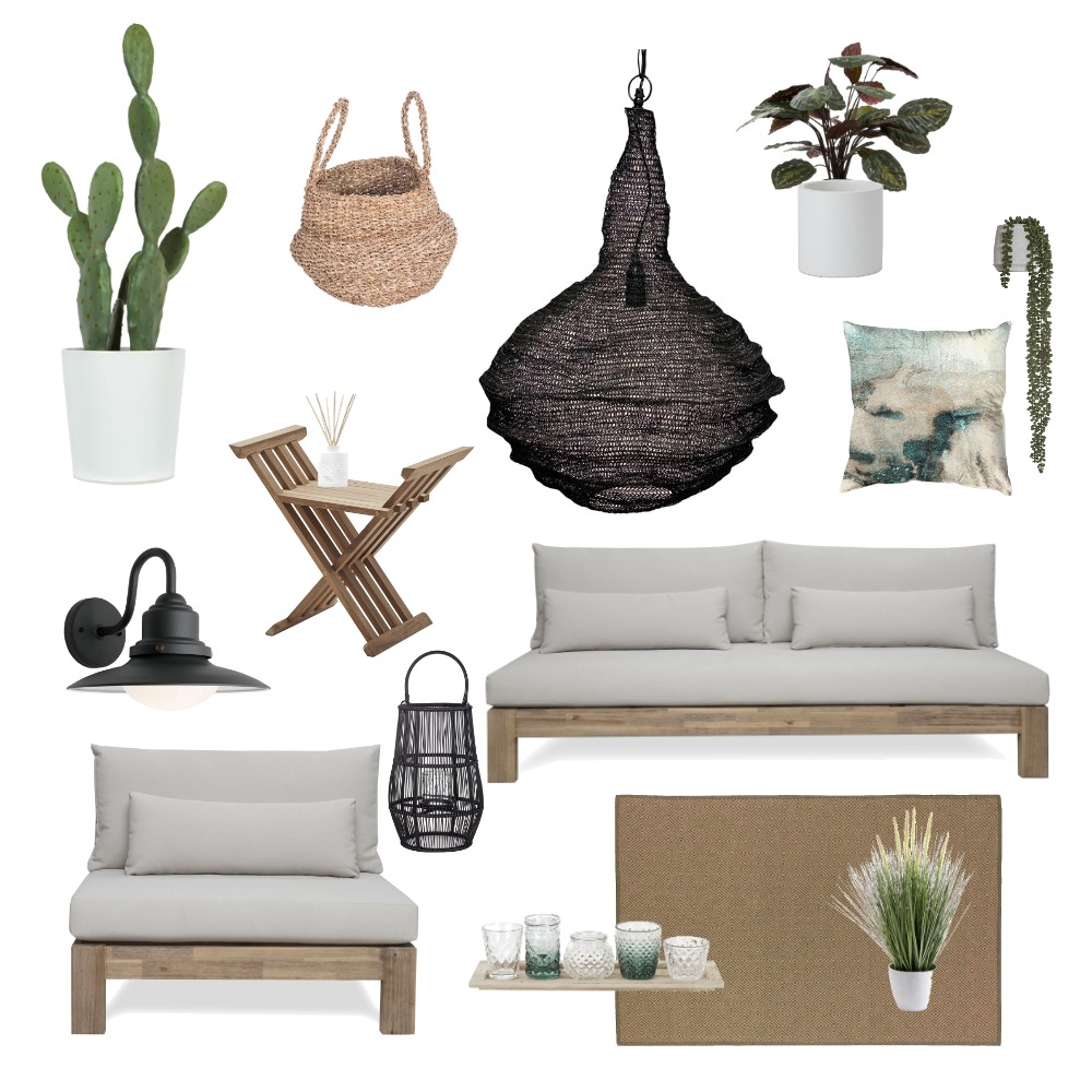 Mykonos outdoor vibes Interior Design Mood Board by SHIRA DAYAN on Style Sourcebook