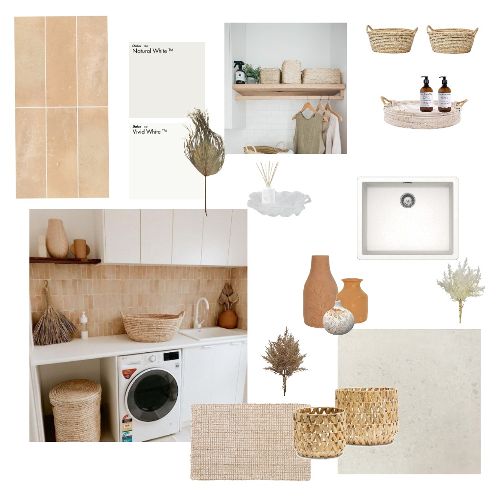 laundry Interior Design Mood Board by melolsen on Style Sourcebook