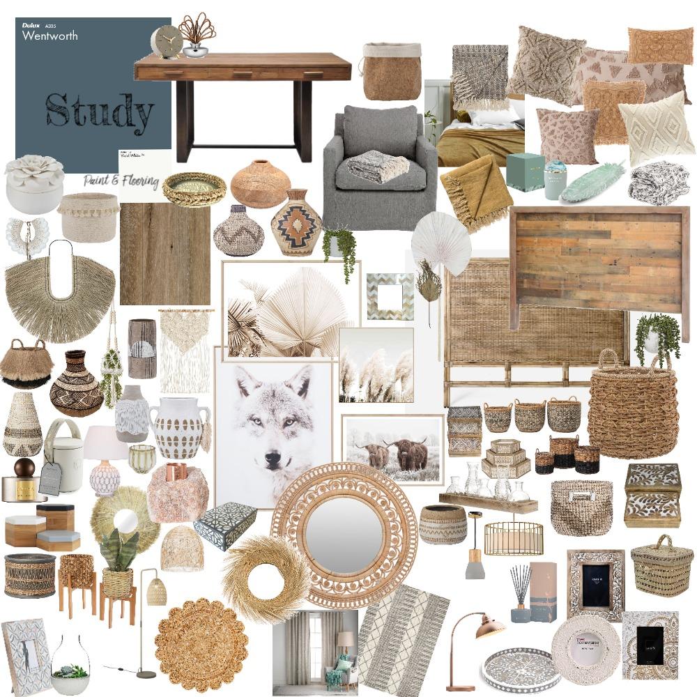 study/murphy bed Interior Design Mood Board by SkyeLauren on Style Sourcebook