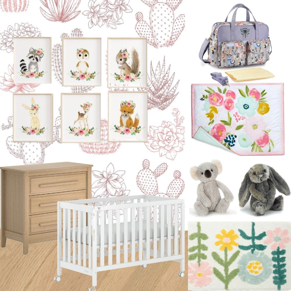 baby nursery assignment Interior Design Mood Board by Elena D on Style Sourcebook