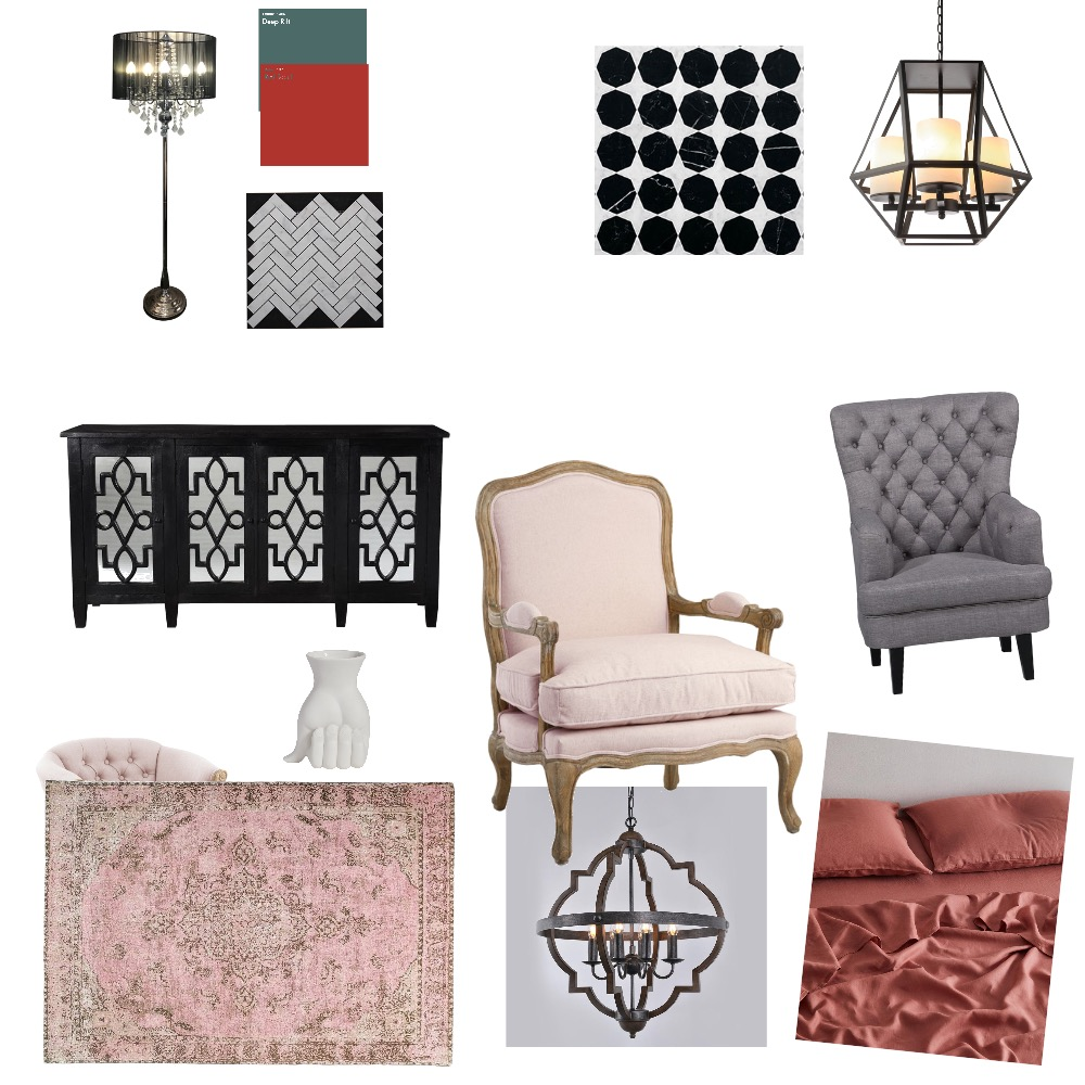 Gothic Interior Design Mood Board by rolsybaby on Style Sourcebook