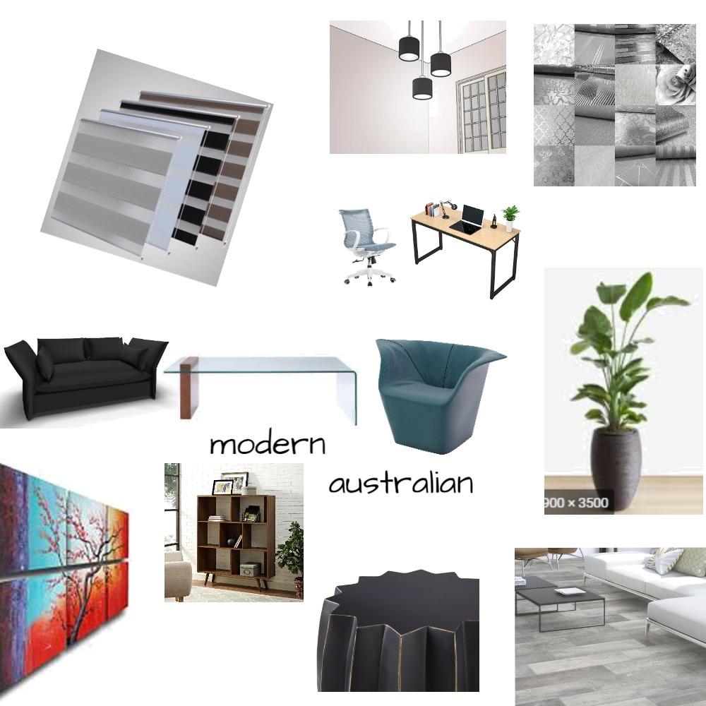 Modern Australian style Interior Design Mood Board by markciantar on Style Sourcebook