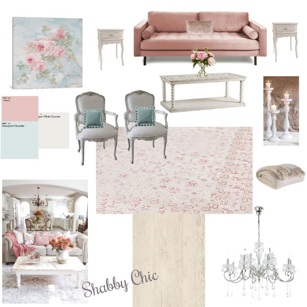 Shabby Chic Interior Design Mood Board by kbradford1 on Style Sourcebook