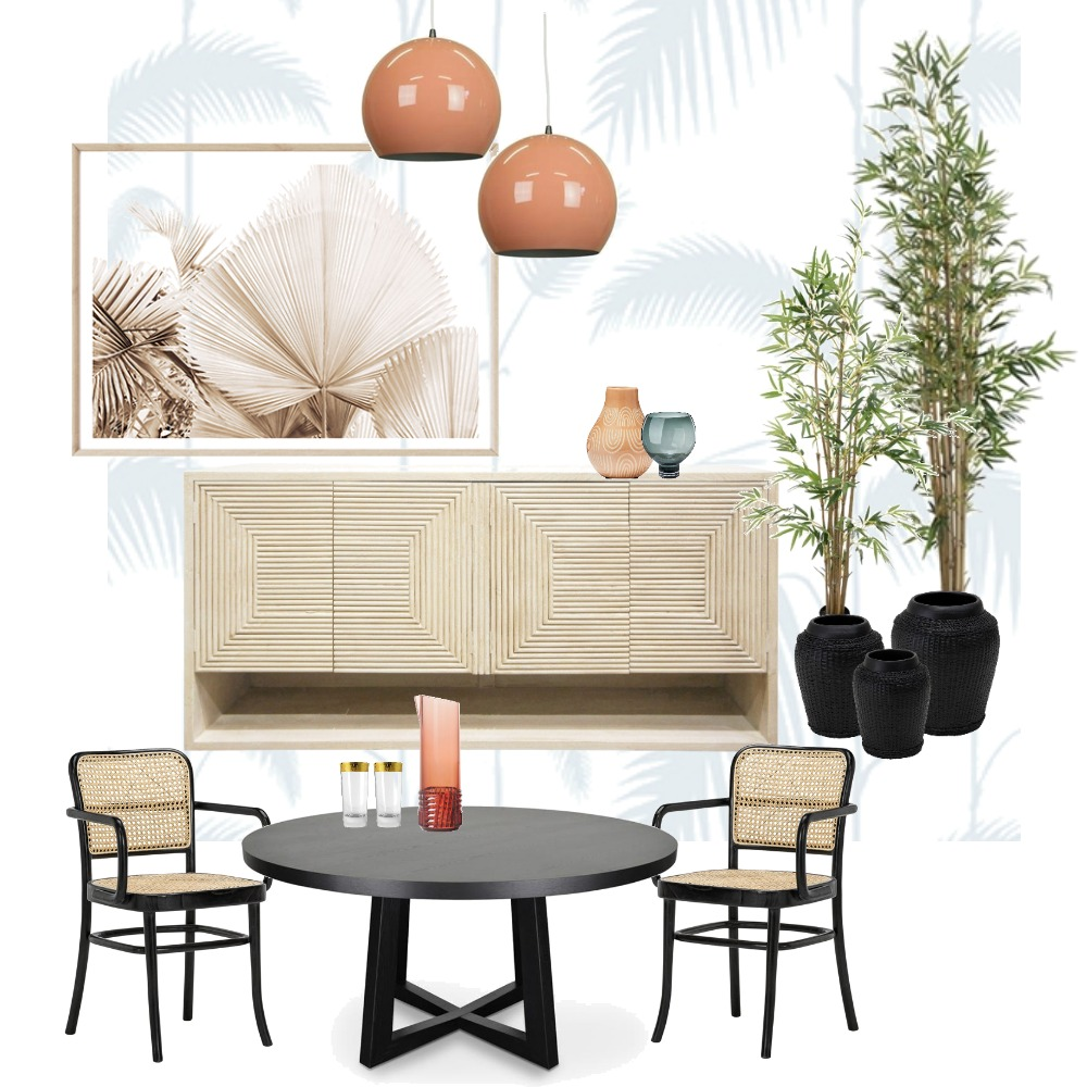 70s Dining Mood Interior Design Mood Board by LaraFernz on Style Sourcebook