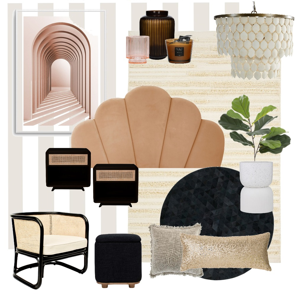 Arches in the Bedroom Interior Design Mood Board by LaraFernz on Style Sourcebook