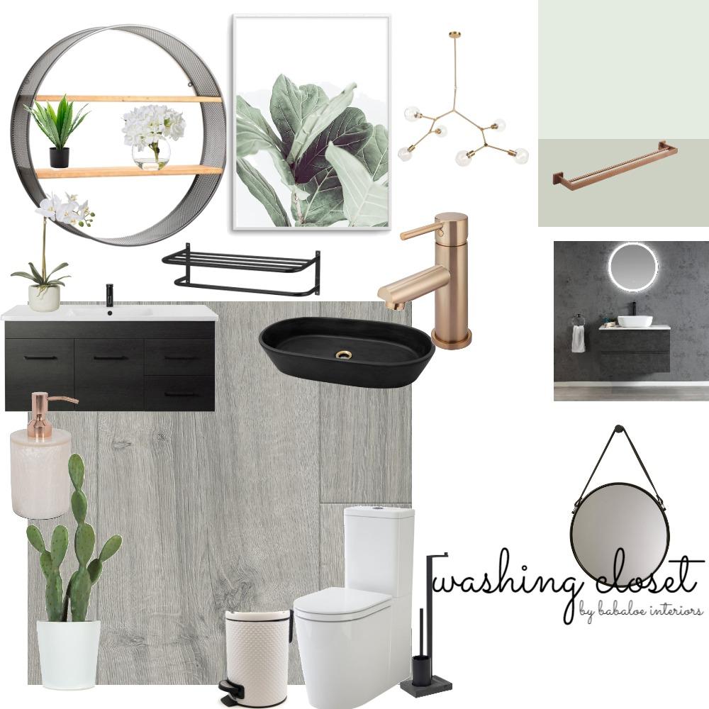bathroom Interior Design Mood Board by Babaloe Interiors on Style Sourcebook