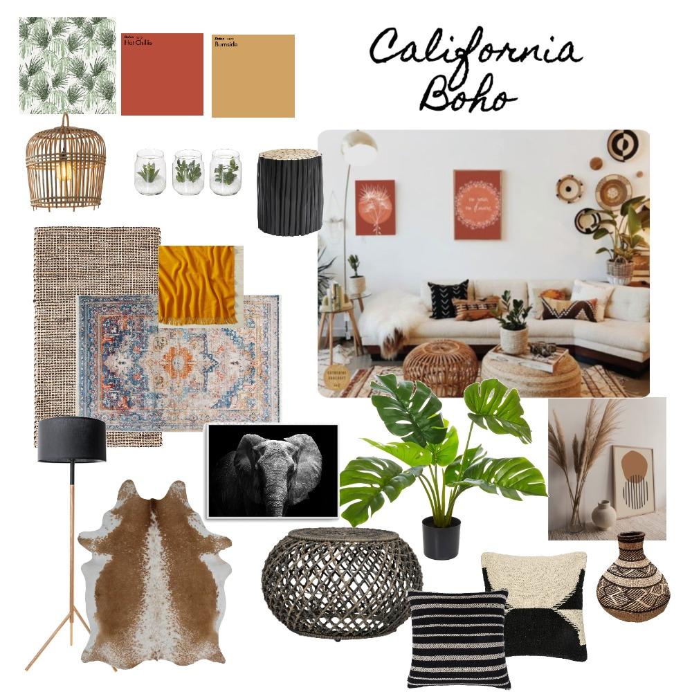 Boho Chic Interior Design Mood Board by stephanimeyer on Style Sourcebook