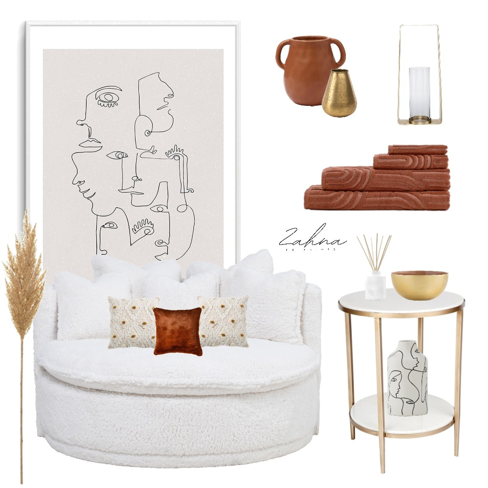 Boho Luxe Mood Board Interior Design Mood Board by Zanna on Style Sourcebook