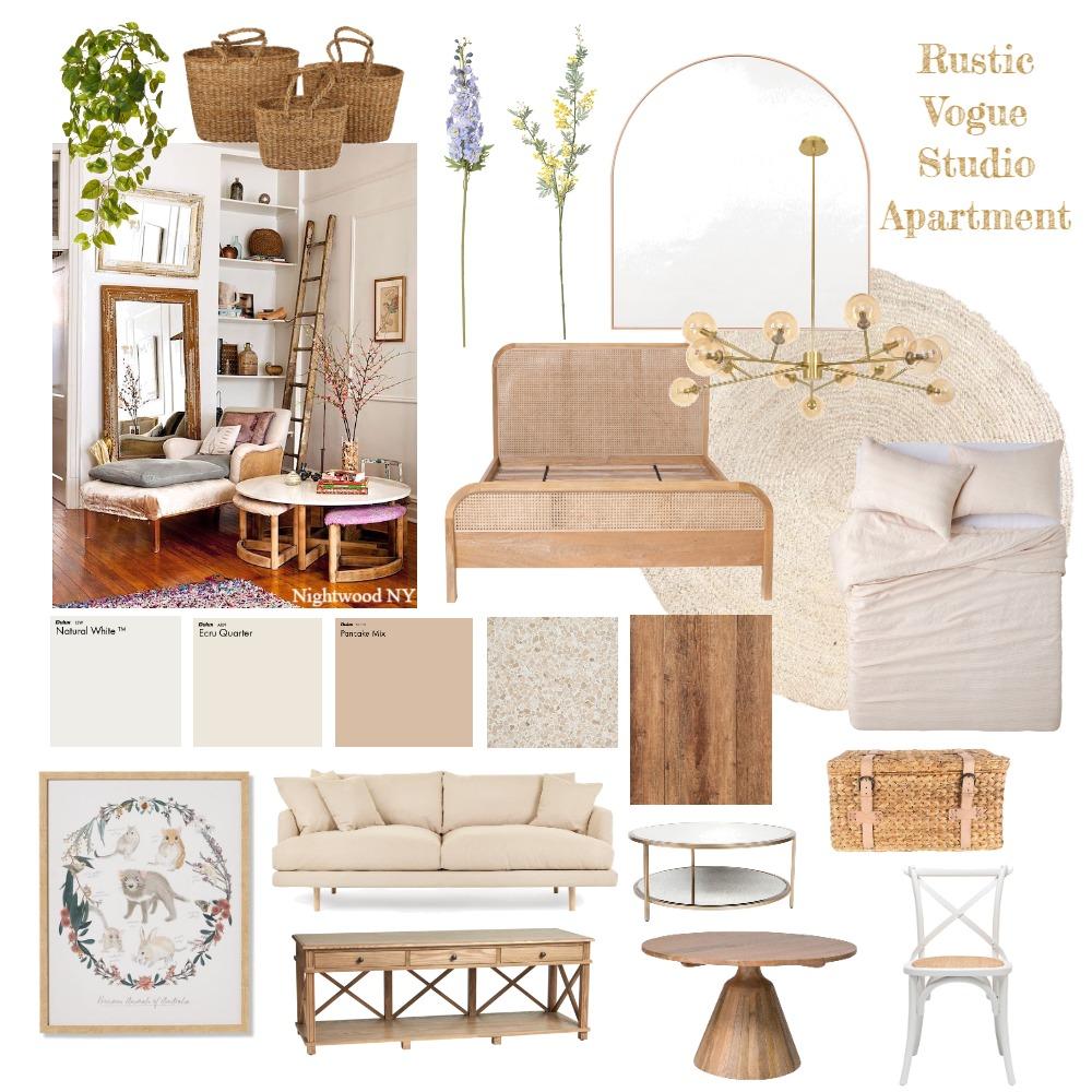 Rustic Vogue Interior Design Mood Board by Madameclaude on Style Sourcebook