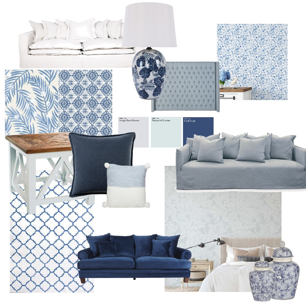 Hamptons Interior Design Mood Board by Bellawatt on Style Sourcebook