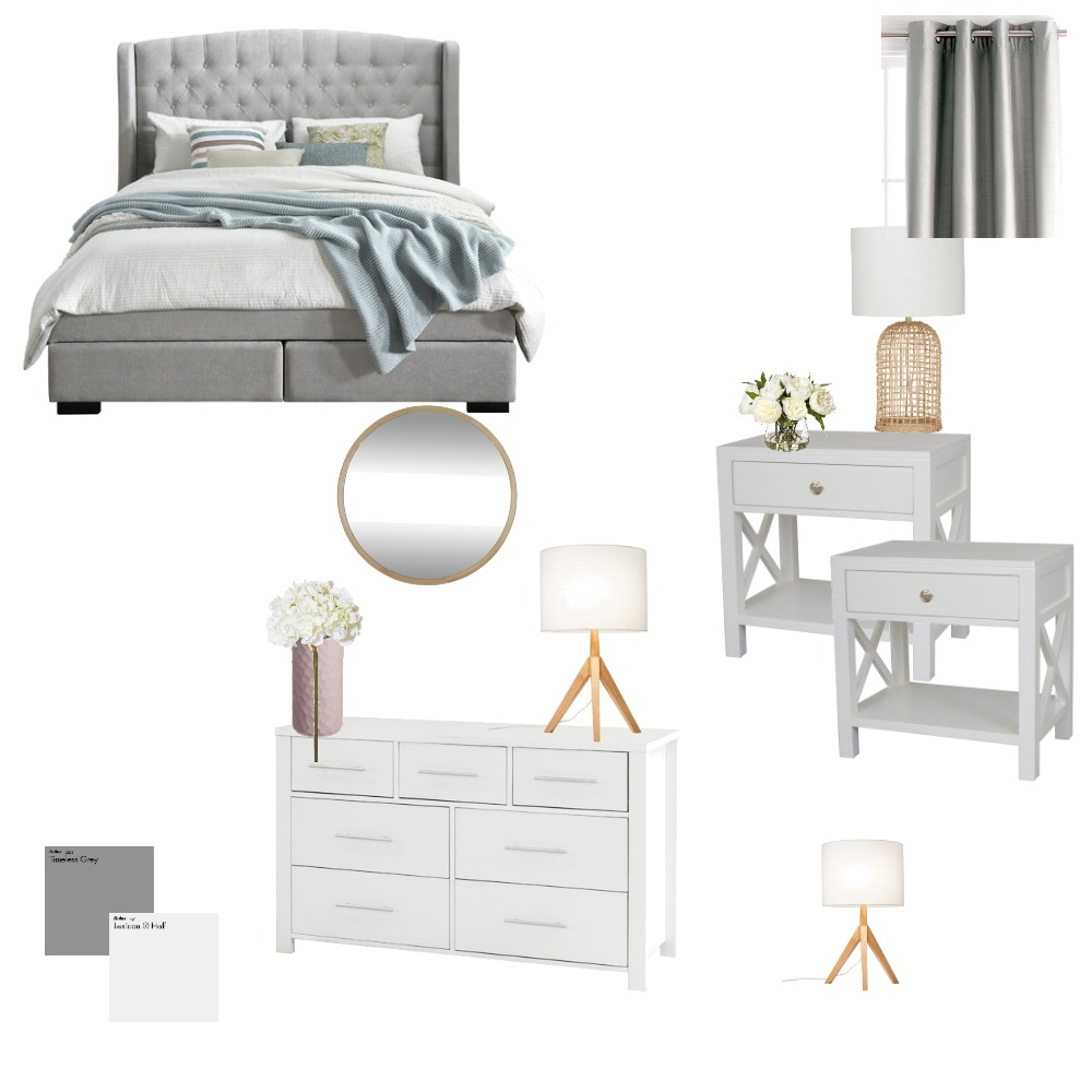 Master Bedroom Interior Design Mood Board by Shandoll on Style Sourcebook