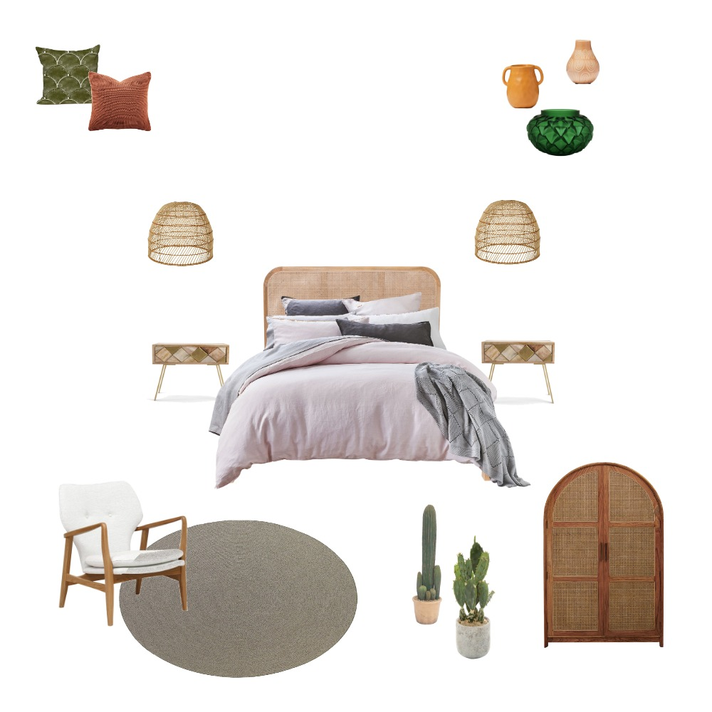 A- GUEST ROOM Interior Design Mood Board by AngelaMendez on Style Sourcebook