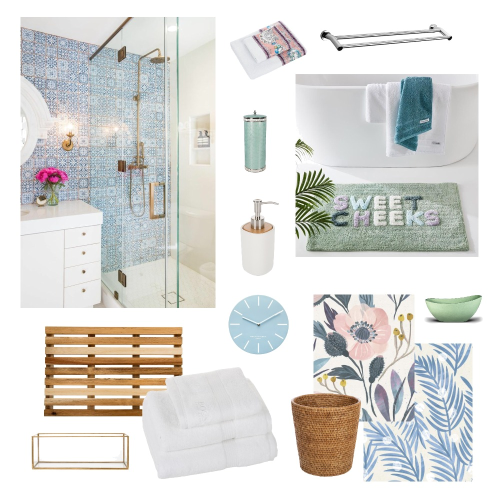 Madison Armstrong // Bathroom Interior Design Mood Board by Lauren Thompson on Style Sourcebook