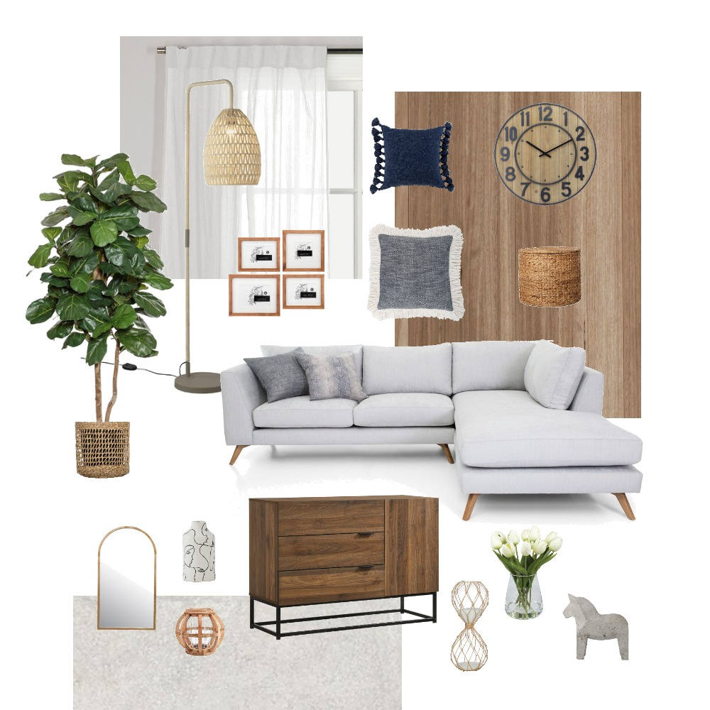 Living Interior Design Mood Board by MiaaaL on Style Sourcebook