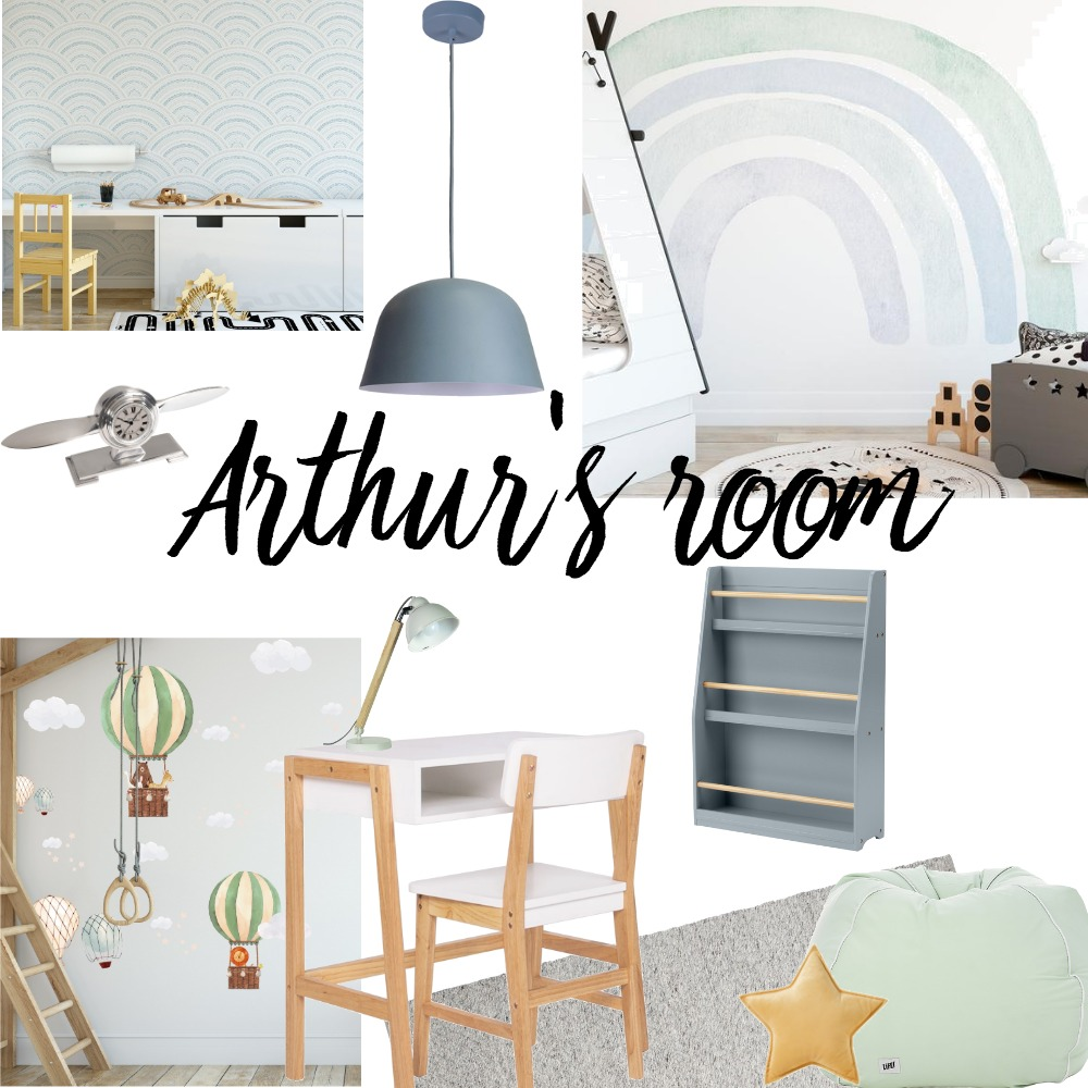 Arthur's room Interior Design Mood Board by Stephanie Broeker Art Interior on Style Sourcebook