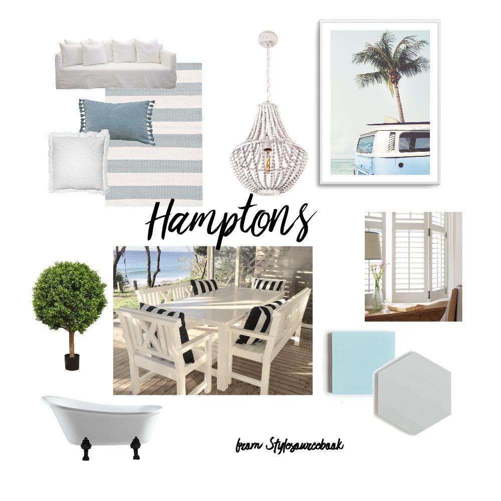 Hamptons Take 2 Interior Design Mood Board by MichelleJones on Style Sourcebook