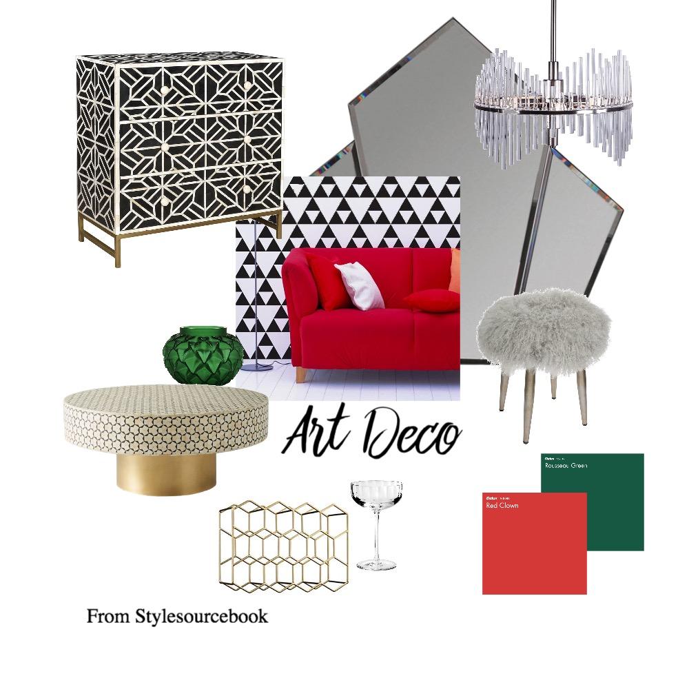 Art Deco X2 Interior Design Mood Board by MichelleJones on Style Sourcebook