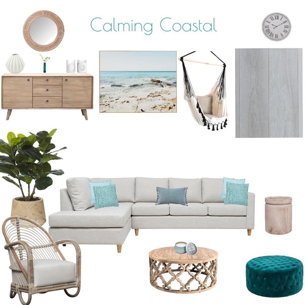 Assessment 3 - Calming Coastal Interior Design Mood Board by Skye Vosloo on Style Sourcebook