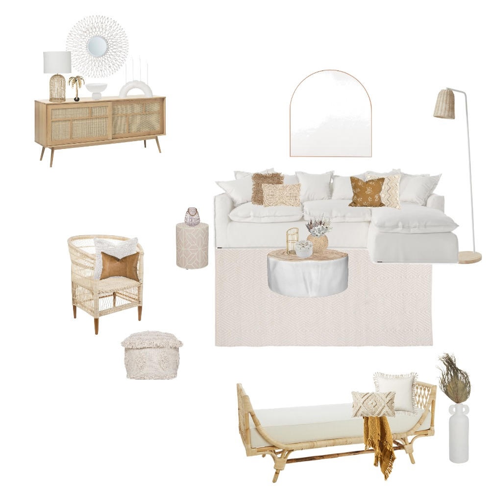 Neutral Living room Interior Design Mood Board by MelissaKW on Style Sourcebook