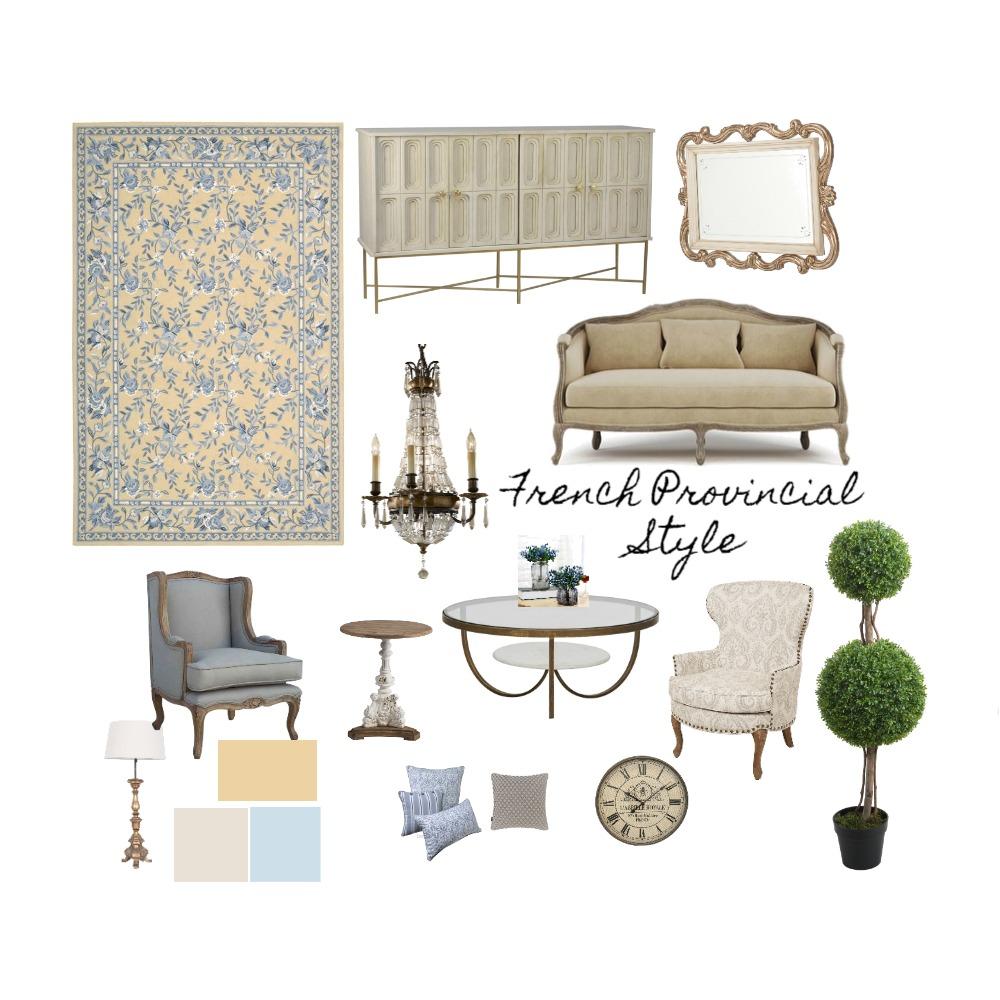 French Provincial Interior Design Mood Board by hananeinteriordesign on Style Sourcebook