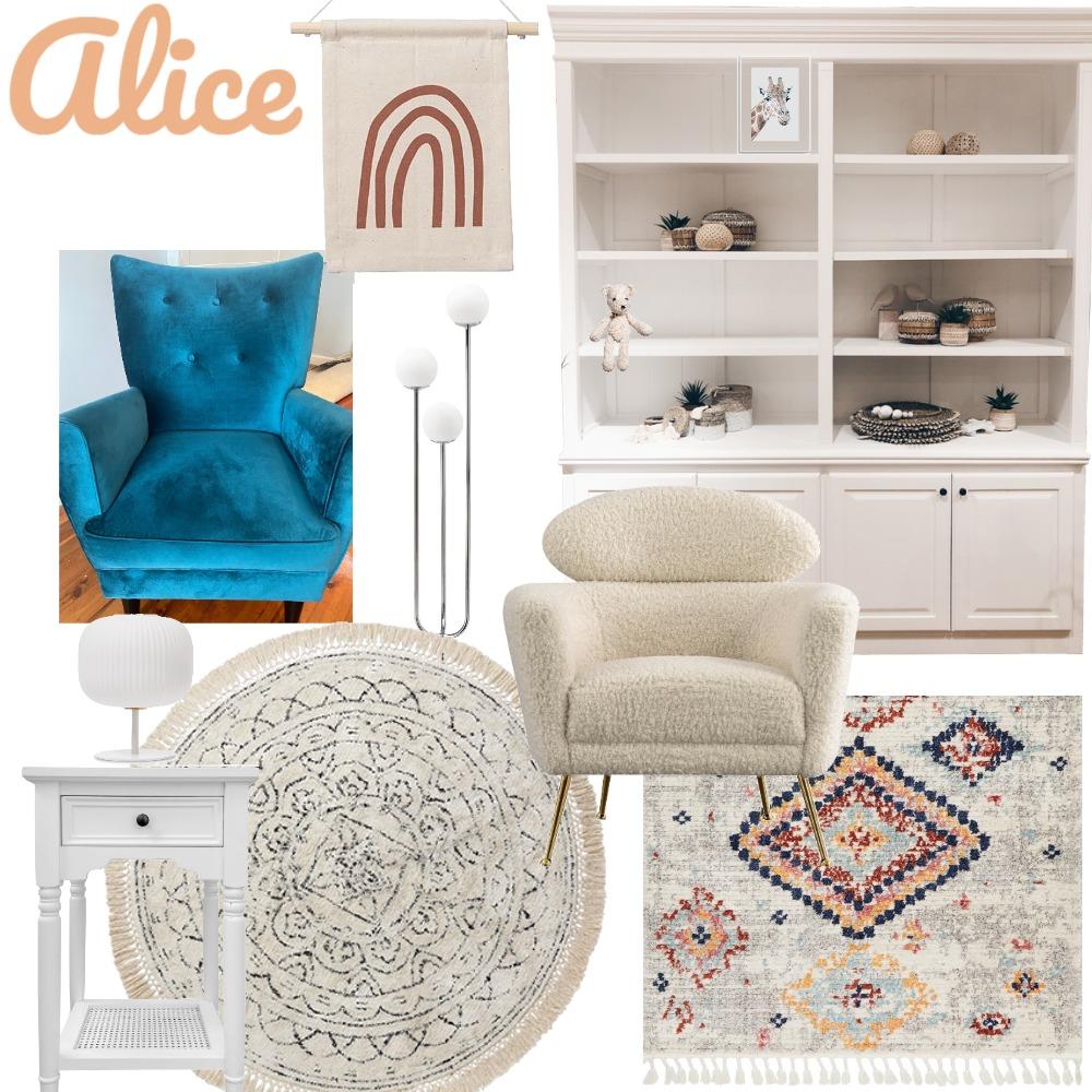 Alice Bedroom Interior Design Mood Board by Tarnby Design on Style Sourcebook