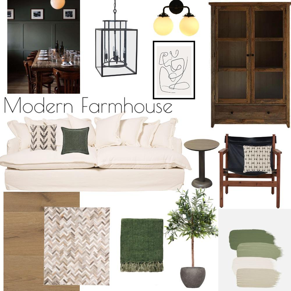 Modern Farmhouse Interior Design Mood Board by NicoliCoetzee on Style Sourcebook