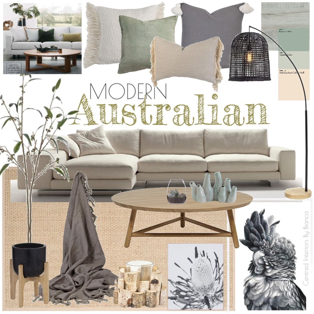 Modern Australian Interior Design Mood Board by Centred Interiors By Bianca on Style Sourcebook