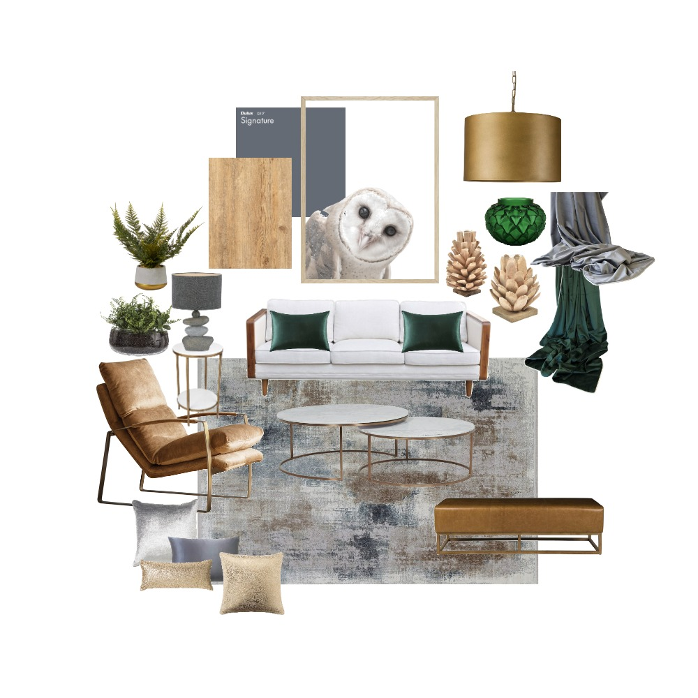 Nature's Sophistication Interior Design Mood Board by bprather on Style Sourcebook