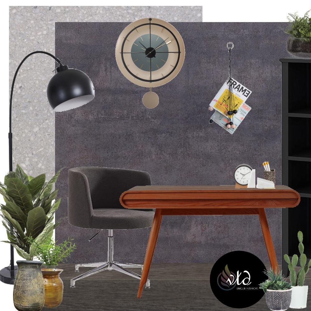 Desk 'til Dawn Interior Design Mood Board by Velvet Tree Design on Style Sourcebook