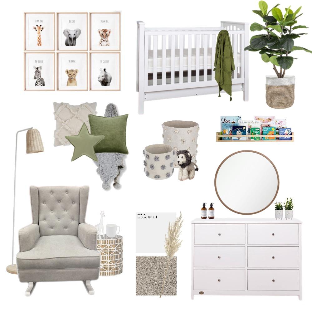 Neutral Nursery Interior Design Mood Board by Chroma Creative on Style Sourcebook