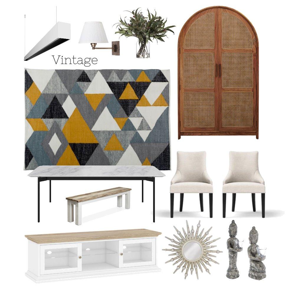Dining room Interior Design Mood Board by APOORVA TYAGI on Style Sourcebook