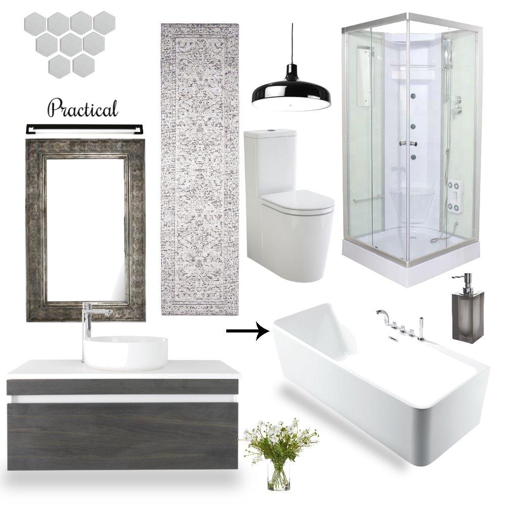 Bathroom Interior Design Mood Board by APOORVA TYAGI on Style Sourcebook