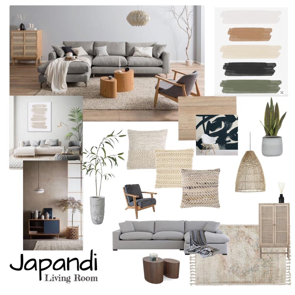 JAPANDI - living room Interior Design Mood Board by KELEFORNIA DESIGN on Style Sourcebook