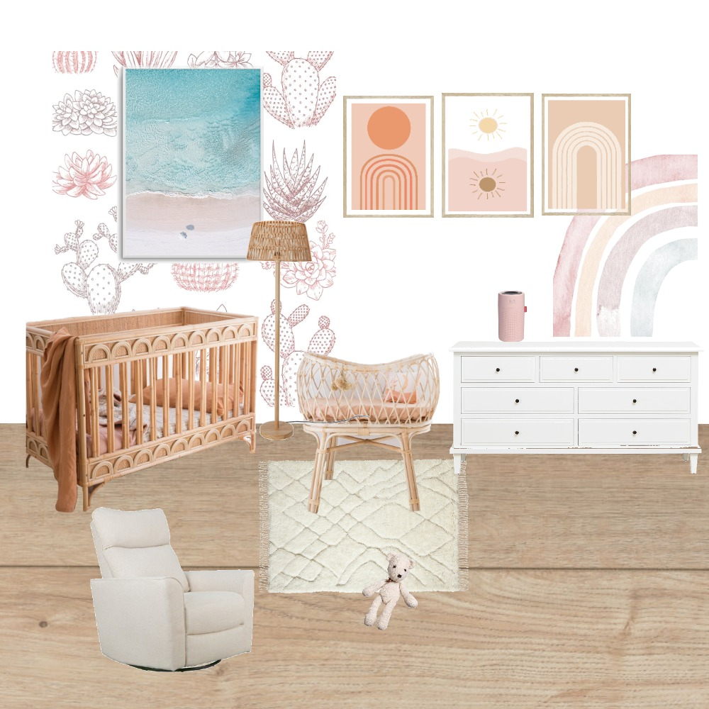 Nursery Child Studies Assesment Interior Design Mood Board by Iliana Anderson on Style Sourcebook