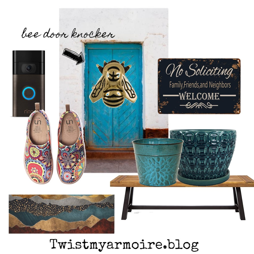 front door Interior Design Mood Board by Twist My Armoire on Style Sourcebook
