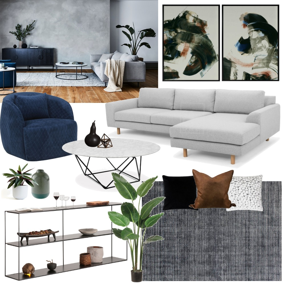 Lucy Living Room Mood Board by TLC Interiors on Style Sourcebook