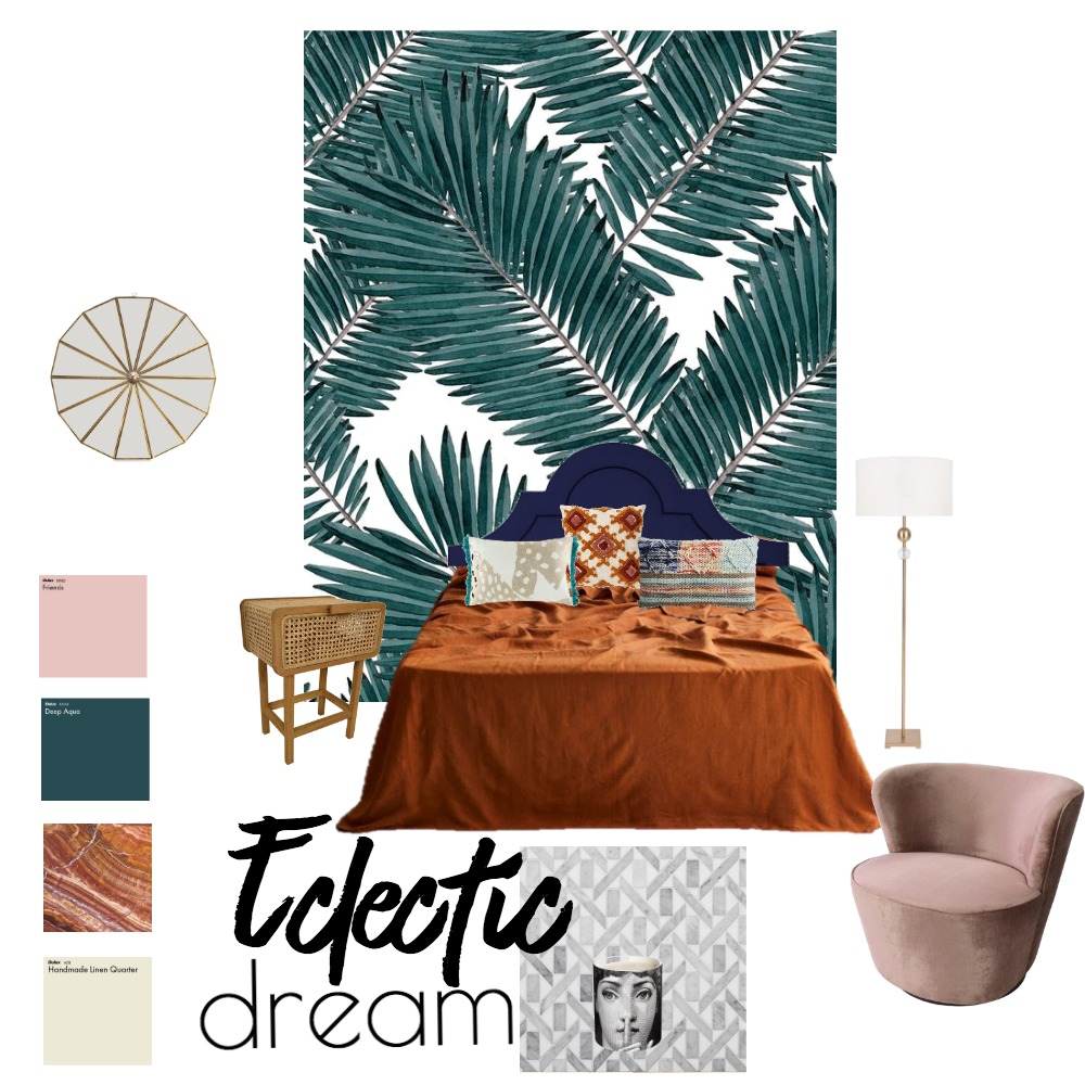 Eclectic dream Interior Design Mood Board by Dhalgara on Style Sourcebook