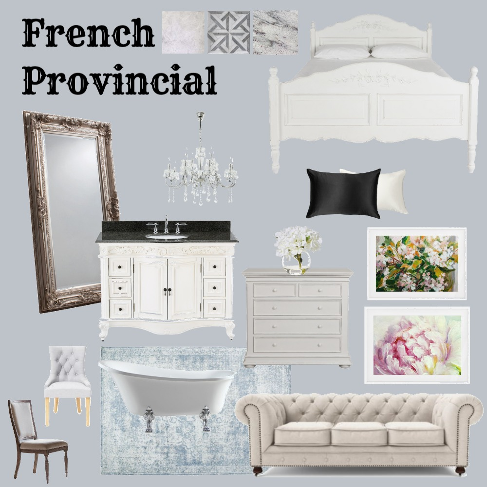 French Provincial Interior Design Mood Board by JimmiJam_7 on Style Sourcebook
