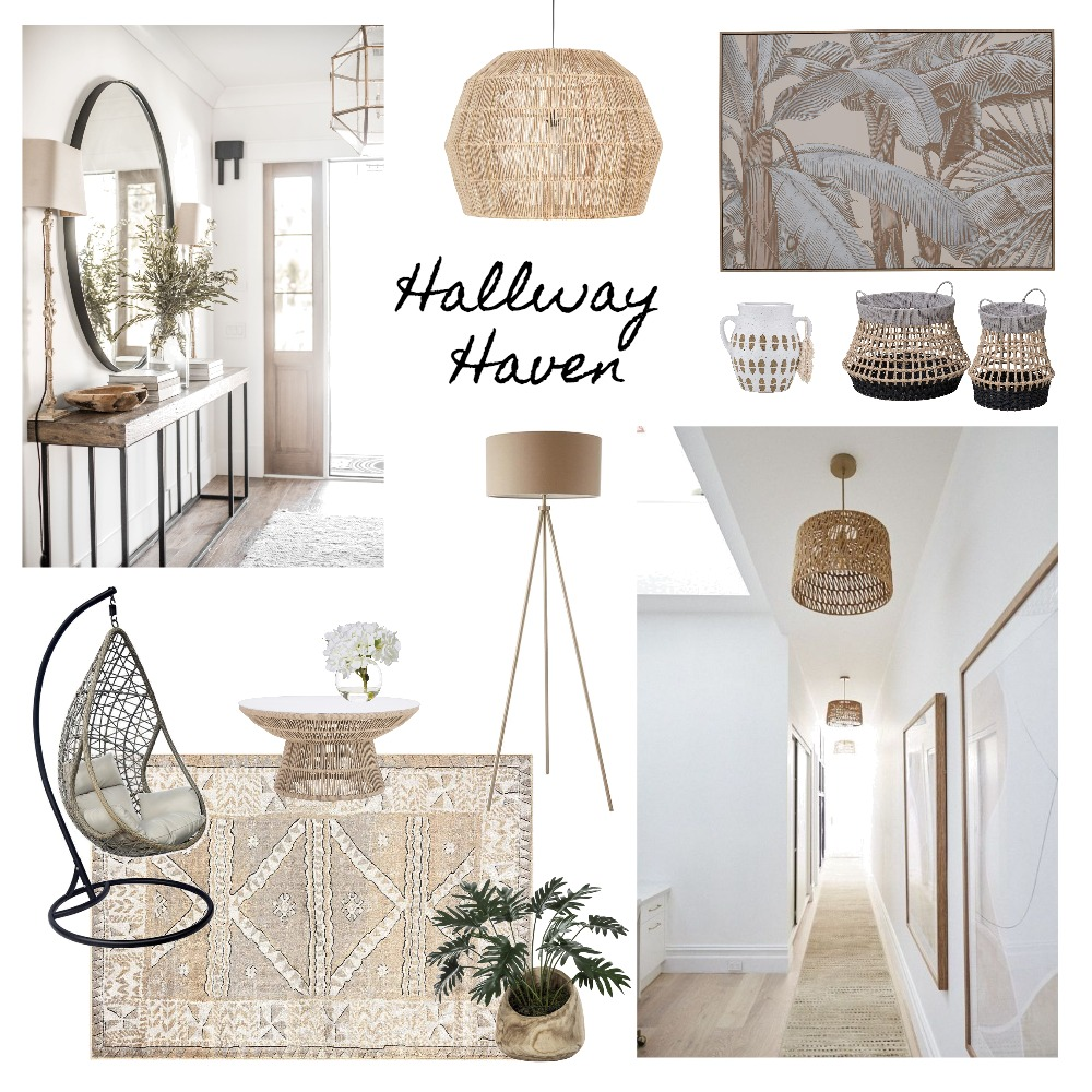 Hallway Haven Interior Design Mood Board by Ciara Kelly on Style Sourcebook