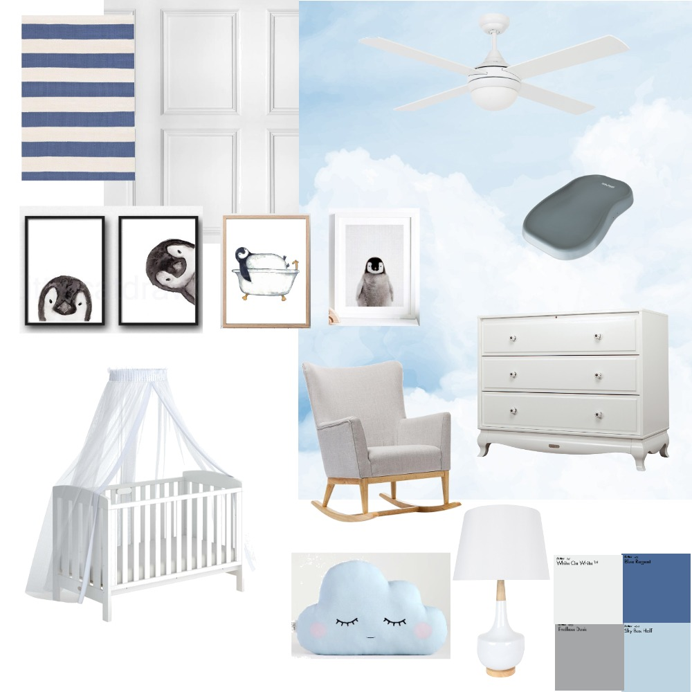 Penguin Interior Design Mood Board by gloriaponcelay on Style Sourcebook