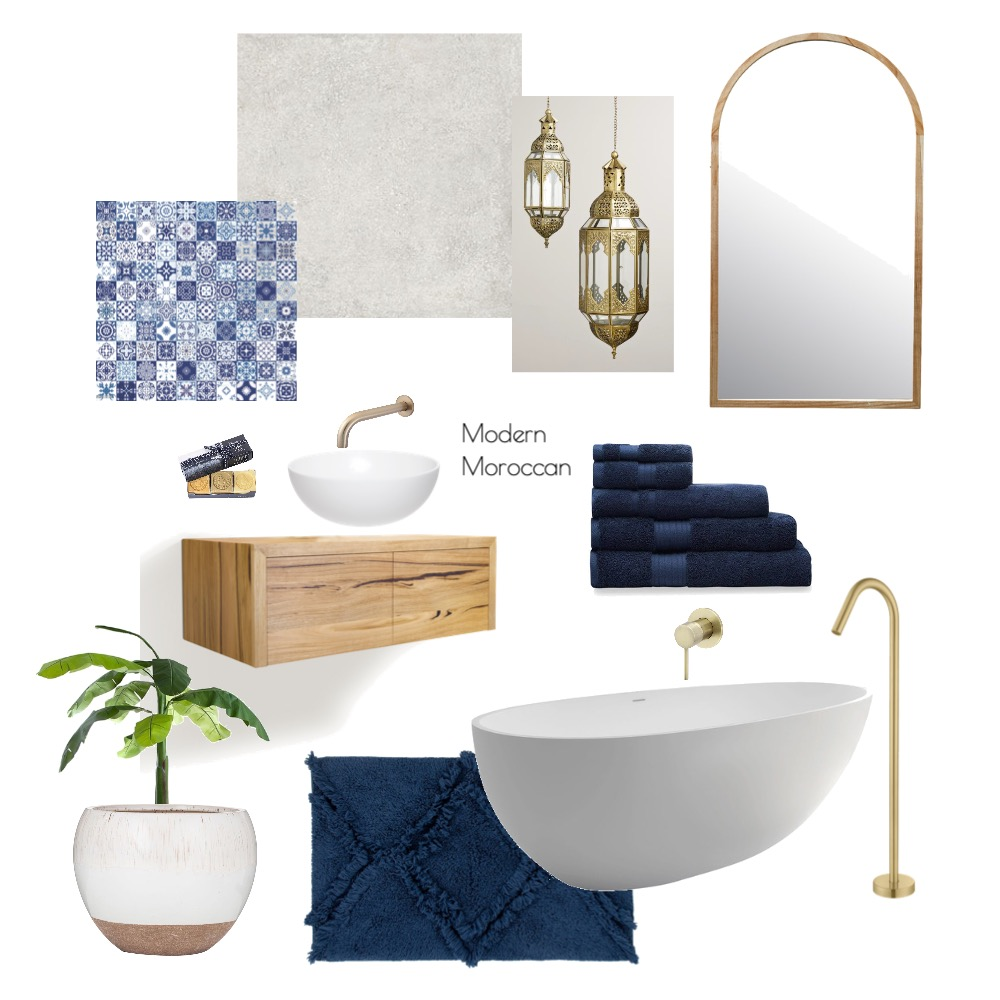 modern moroccan Interior Design Mood Board by Melly24 on Style Sourcebook