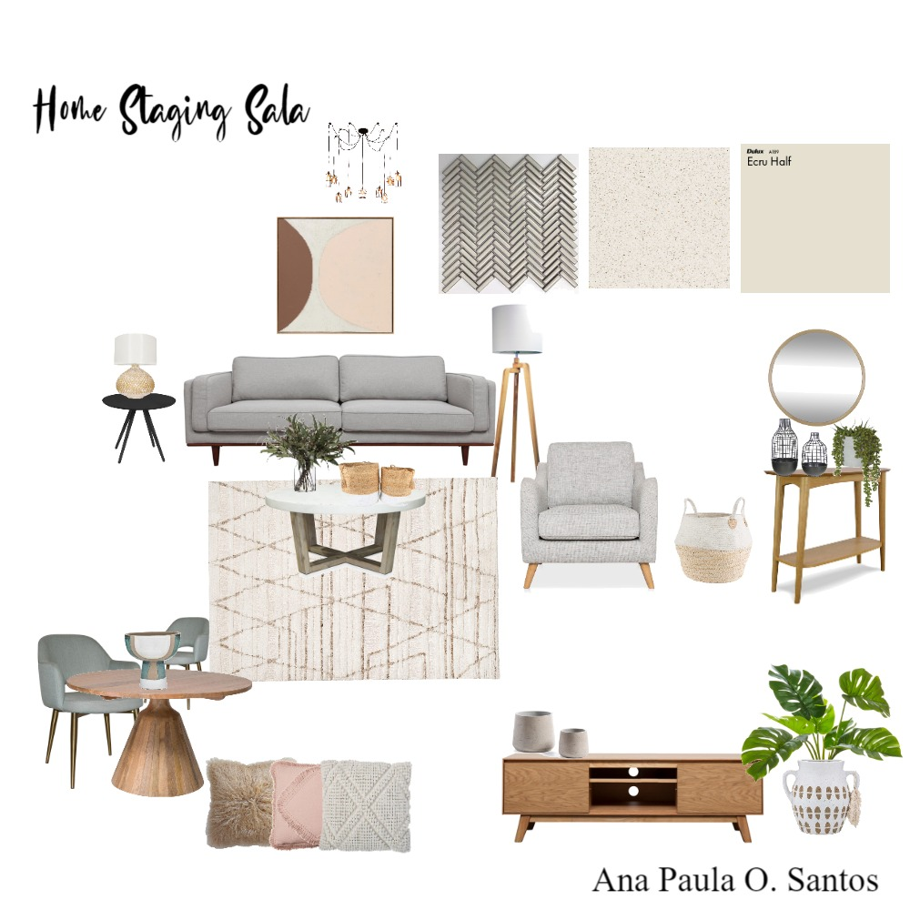 Home staging Ana Paula Interior Design Mood Board by Staging Casa on Style Sourcebook