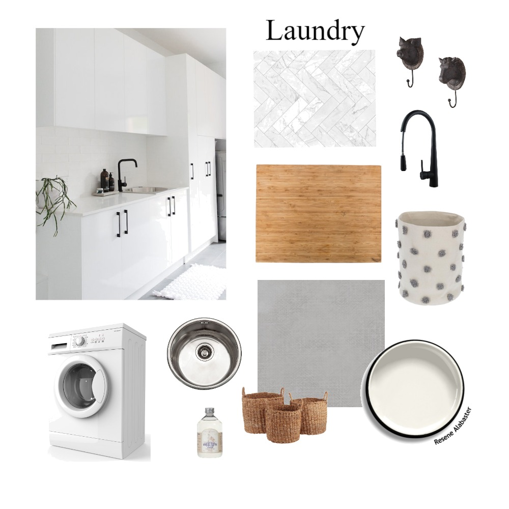 Laundry Interior Design Mood Board by joirain on Style Sourcebook