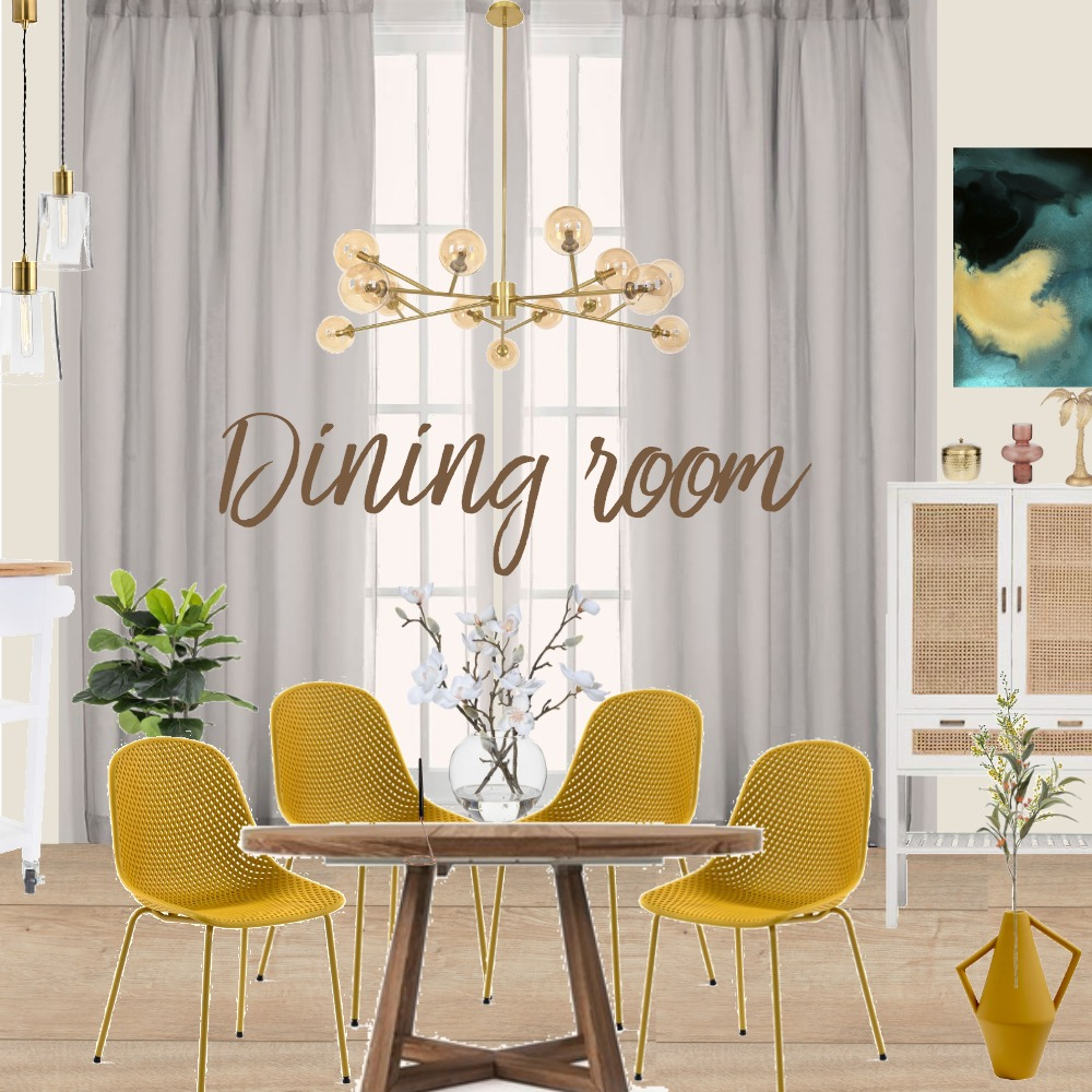 Dining area Interior Design Mood Board by Stephanie Broeker Art Interior on Style Sourcebook