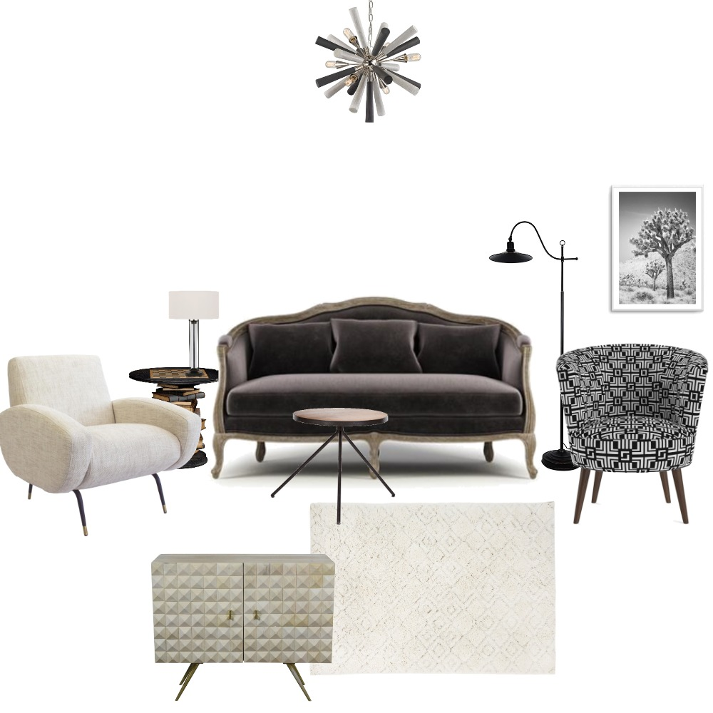 Eclectic Living Interior Design Mood Board by Eclecticisbest on Style Sourcebook
